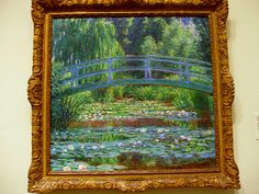The Japanese Footbridge and Water Lily Pool, Giverny Claude Monet 1899 Philadelphia Museum of Art Claude Monet, Animal Crossing Characters, Philadelphia Museum Of Art, Water Lilies, Van Gogh, Impressionist, Art Museum, Illustration Art, Illustrations