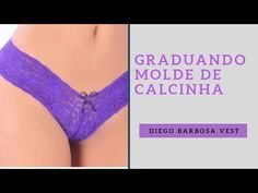 Graduando calcinha/ aumentando o seu molde de peças intima - YouTube Underwear Pattern, Youtube, Bra, Sewing, Lady, Women, Dresses, Fashion, Women Lingerie