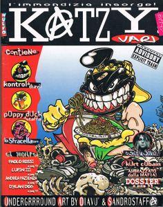 Katzy Vari nuevo, 1995 Immgaine di Diavù Grafica Ale Pop Mafia, Ale, Comic Books, Comics, Comic Strips, Ales, Comic Book, Comic Book, Comic