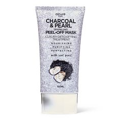Shop for Charcoal & Pearl Sparkling Peel Off Mask by Azure. Our pore clearing peel off mask acts to deeply cleanse and purify your skin, effectively lifting and moisturizing, leaving your glowing and fresh. Blackhead Mask, Blackhead Remover, Face Mask For Blackheads, Cleansing Mask, Beauty Case, Charcoal Mask, Peel Off Mask, Sally Beauty, Skin Care Remedies
