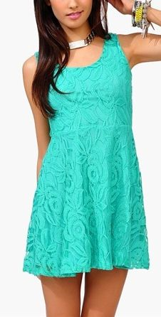 Jade Lace Dress ♡ * Memorial Day Weekend & save 20% with promo code MEMORIAL20 *