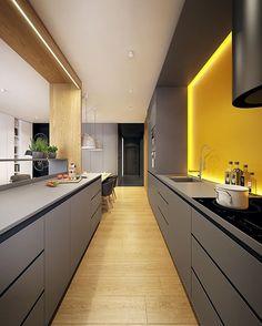 Warszawa House by Plasterlina Design. Location: #Warsaw #Poland #architectdesigne