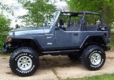 Image result for 2002 lifted jeep wrangler
