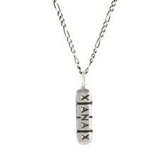 Xanax Bar Pendant Necklace on AHAlife