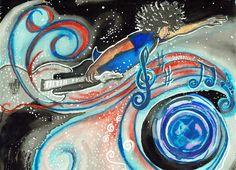 Art by Amalia Grassi  #b2zone #b2zonemagazine