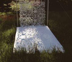 Die-cut tyvek curtain by Tord Boontje   110 x 250cm