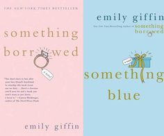 """""""Something Borrowed"""" and """"Something Blue"""" follow two childhood friends who weather an unthinkable betrayal and break the code of women - sleeping with your best friend's man/fiance. I enjoyed these although I disapprove of the idea of having relations with your friend's love - ex or not."""