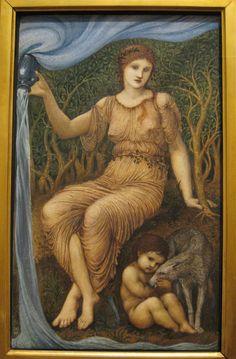 Earth Mother ~ Edward Burne-Jones ~ 1882