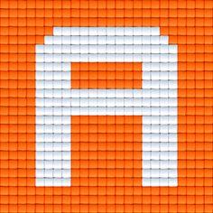 X Letter A   Pixel Party