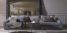 Canapé italien MODA. Boutique mobilier contemporain