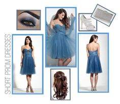 """""""Short Prom Dress Inspiration"""" by edressme ❤ liked on Polyvore featuring Camille la Vie, women's clothing, women's fashion, women, female, woman, misses and juniors"""