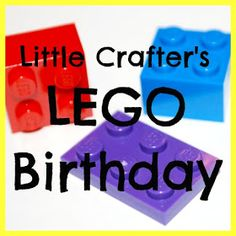 One Artsy Mama: The Ultimate LEGO Party