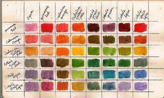 Color Study 1 by Frances Waite Art