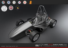 Formula Student Car by PolSl Racing Team