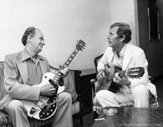 Les Paul with Chet Atkins