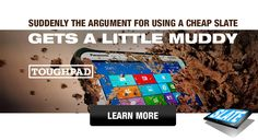 Create eye catching banner ads for the latest rugged tablet pcs! by Sven Jorgen