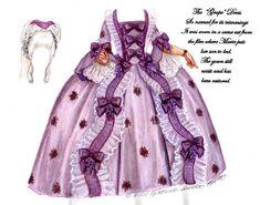 NORMA SHEARER as Marie Antoinette, 1938 <><> The Grape Dress, by Brenda Sneathen Mattox 9 of 10
