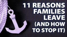 Tired of attrition? Here are 11 common reasons families leave and how to stop it from happening!  RETENTION COURSE