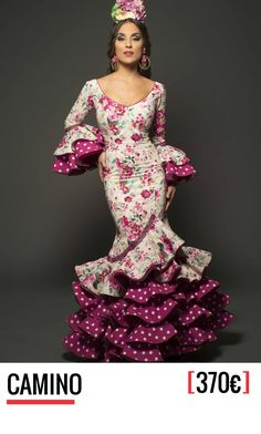 Aires de Feria, trajes de flamenca - Colección 2017 15 Dresses, Cute Dresses, Beautiful Dresses, Formal Dresses, Flamenco Costume, Flamenco Dresses, Spanish Dress, Flamingo Dress, Gypsy Women