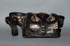 Hasi-tasi bőr övtáska, kígyóbőrrel - leather belt bag Leather Belt Bag, Accessories, Fashion, Moda, Fashion Styles, Fashion Illustrations, Jewelry Accessories