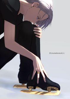 Stay gold!!! Viktor (Yuri!!! On Ice) Please support artist>> @inunekosukii: