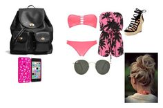 """""""a day at bech"""" by kyleyclarissa on Polyvore"""