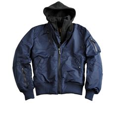 4260354363824 | #Alpha #Industries #Herren #ALPHA #INDUSTRIES #Jacke #»Oxygen #II« #blau