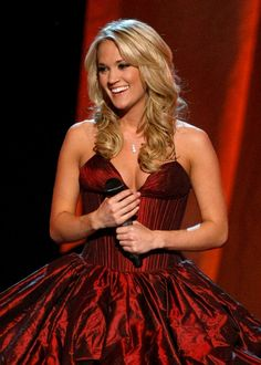 Carrie Underwood at the 2009 ACM Awards