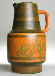 Bay Keramik West German Pottery Ceramic Modern Mid Century Retro Shabby Chic Pot