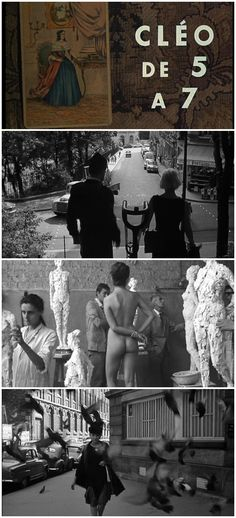 Cleo from 5 to 7 // Agnes Varda // 1962
