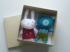 rosie and blue bear | por mique m