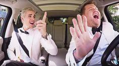 Watch Justin Bieber, James Corden 'Carpool Karaoke' After Grammys #headphones #music #headphones