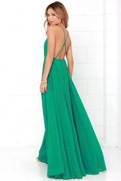 Mythical Kind of Love Green Maxi Dress 3