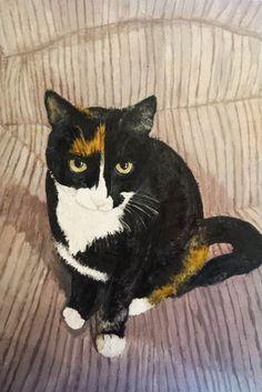 Cat Memorial, Memorial Gifts, Pet Dogs, Pets, Pet Mice, Pet Portraits, Your Pet, Painting, Painting Art