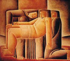 Pietá 1924 | Vicente do Rego Monteiro óleo sobre tela 80.00 x 90.00 cm Coleção Gilberto Chateaubriand - MAM RJ