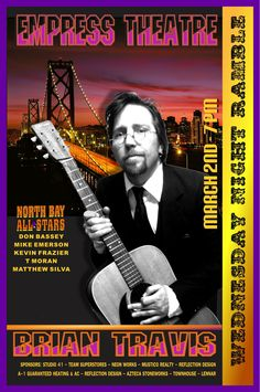 Brian Travis is a native California songwriter who songwriting style and live presentation has been compared to Tom Petty, Neil Young, Oasis and REM. He has toured extensively in the US, UK and Europe and has released 6 CD's of original Americana-tinged folk rock