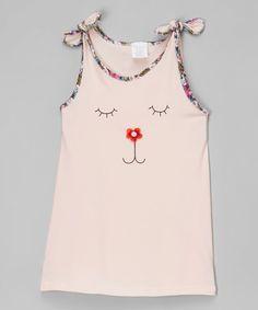 Loving this Pink Face Dress - Toddler & Girls on #zulily! #zulilyfinds