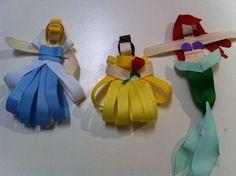 princess hair bows omg