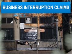 Public Adjusters Business Interruption Claims