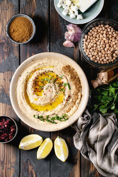 Hummus With Olive Oil And Ground Cumin Food Photography Styling, Food Styling, Hummus And Pita, Hummus Dip, Hummus Ingredients, Arabian Food, Turkish Recipes, Persian Recipes, Hummus Recipe