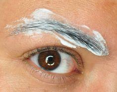 How to lighten your eyebrows.