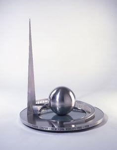 Theme Center model for 1939 New York World's Fair.