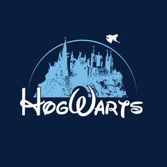 Camiseta niño Harry Potter Disney. Hogwarts