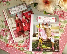 Mais duas fofuras para a minha pequena coleção de livros Tilda!!!