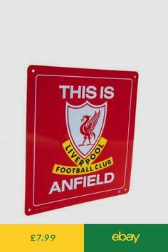 1d713de3da875 Liverpool F.C - Metal Sign THIS IS ANFIELD - GIFT PLAQUE