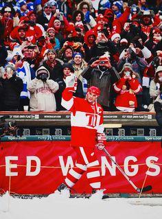 Alumni game, Detroit Red Wings vs. Toronto Maple Leafs