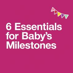 """the little moments to the major ones, every """"first"""" with your baby is a big deal. Take time to celebrate these milestones together, whether it's the first step, first tooth or first birthday. Baby Needs, Baby Love, Potty Training Boys, Baby Olivia, Cute Baby Videos, Baby Dress Patterns, First Tooth, Baby Supplies, After Baby"""