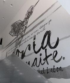 Zaldibar Antzokia, rotulación interior Home Decor, Corporate Identity, Interiors, Homemade Home Decor, Interior Design, Home Interior Design, Decoration Home, Home Decoration