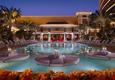 """Wynn Hotel Las Vegas Swimming Pool... Be here on Sunday can't wait vacation here I come"
