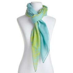 VINCE CAMUTO Ombre Print Scarf